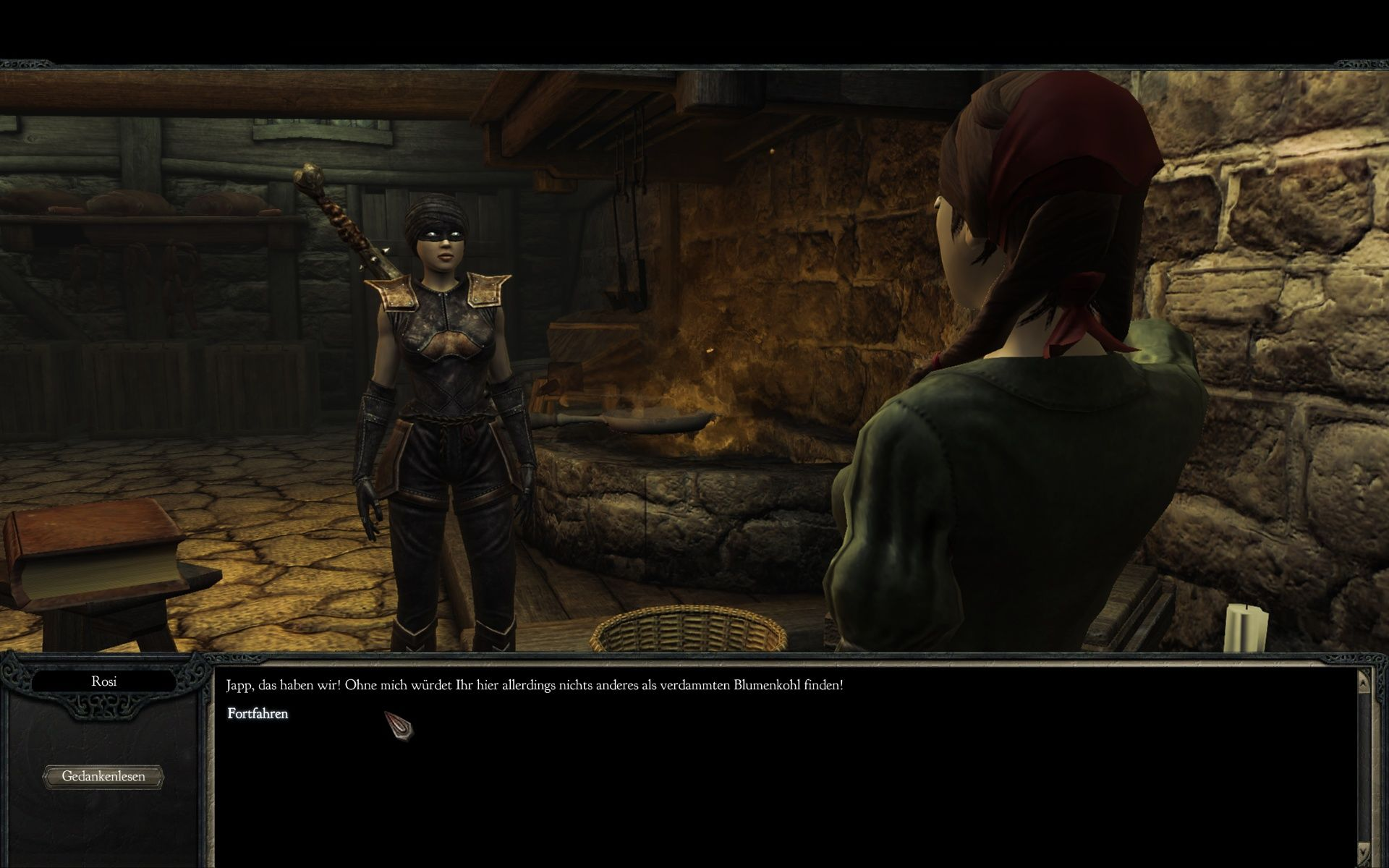 Divinity II: Ego Draconis Windows Looking at myself while talking to that nice lady