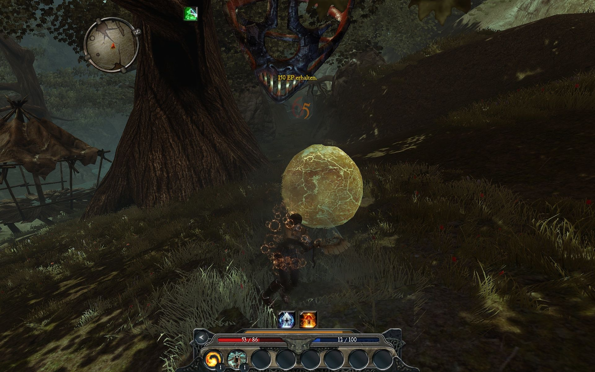 Divinity II: Ego Draconis Windows That strange ball was a boss-enemy.