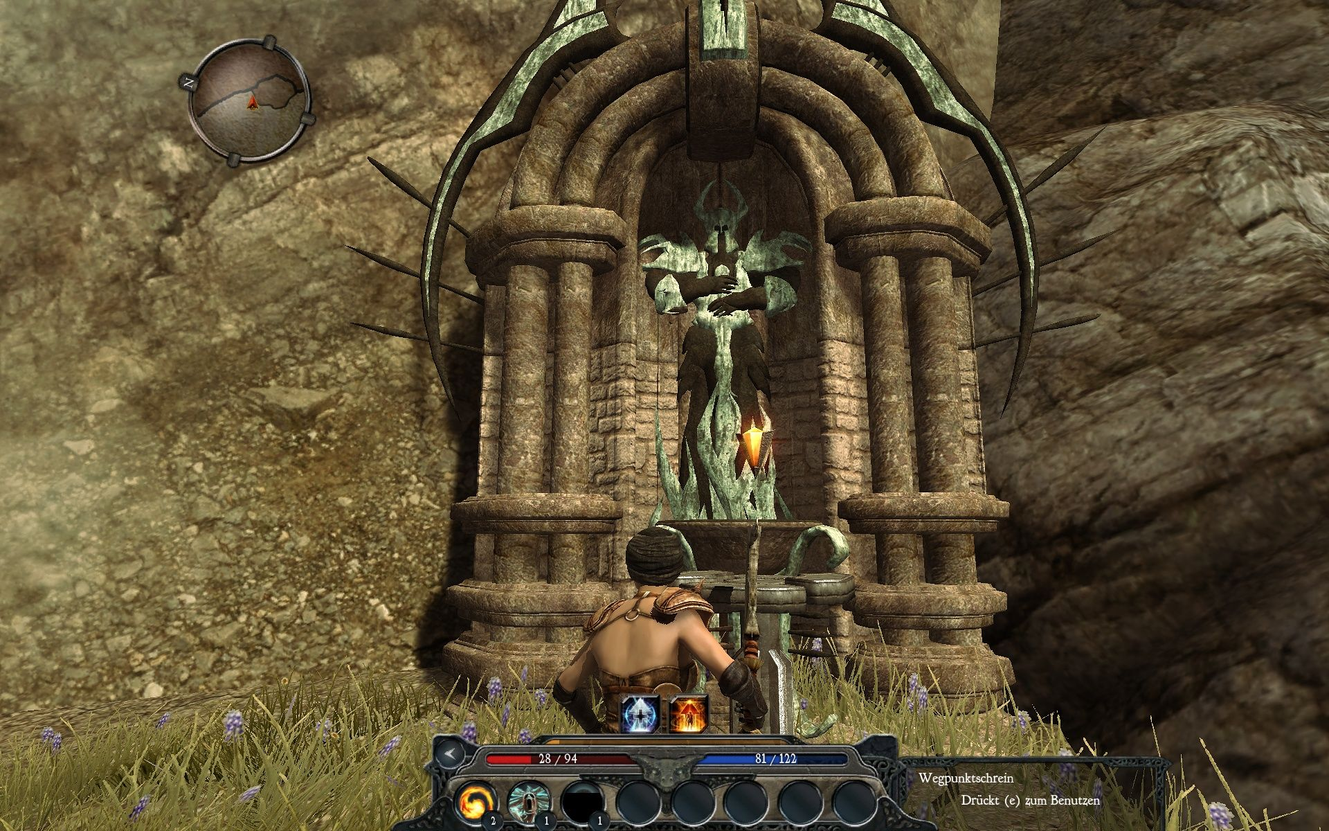 Divinity II: Ego Draconis Windows These shrines act as waypoints to travel faster over the map