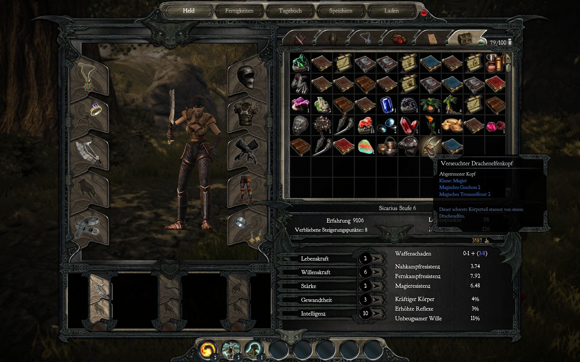 Divinity II: Ego Draconis Windows The inventory fills up very fast
