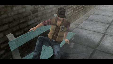 Silent Hill: 0rigins PSP Where am I?