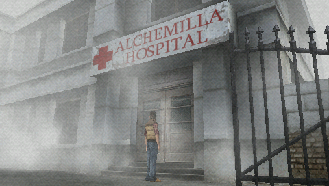 Silent Hill: 0rigins PSP You'll spend a lot of time here.