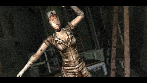 Silent Hill: 0rigins PSP BOO!