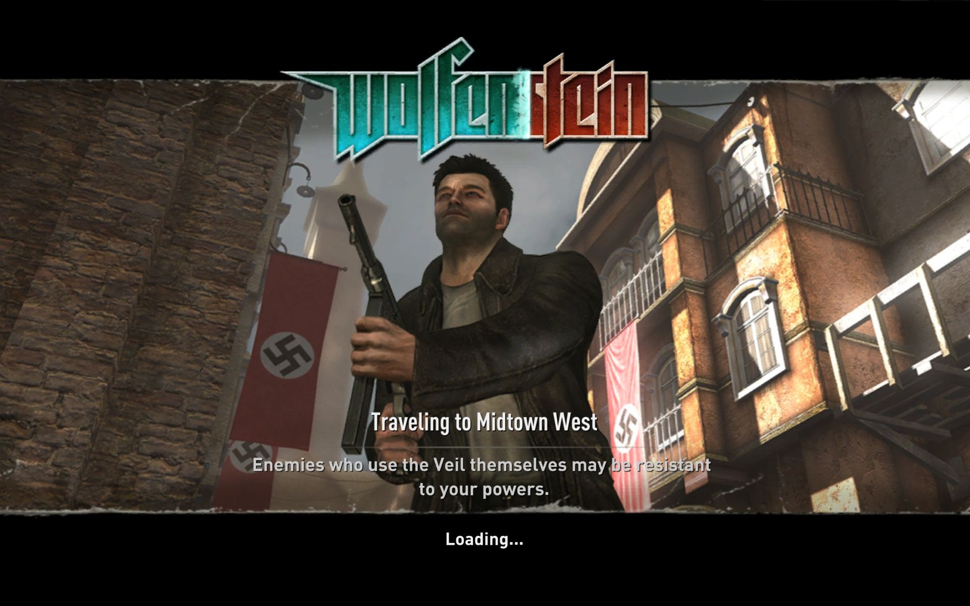 Wolfenstein Windows Loading Screen