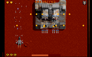 Raptor: Call of the Shadows DOS You can fly over this enormous tank without engaging it