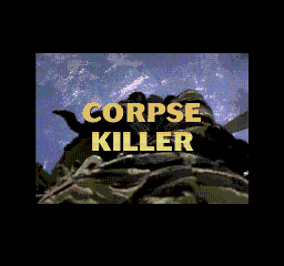 Corpse Killer SEGA CD Title