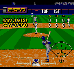 ESPN Baseball Tonight SEGA CD The standings so far