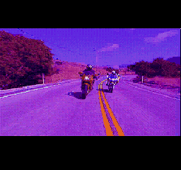 Road Rash SEGA CD Intro