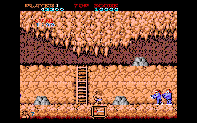 Ghosts 'N Goblins Amiga The Cave