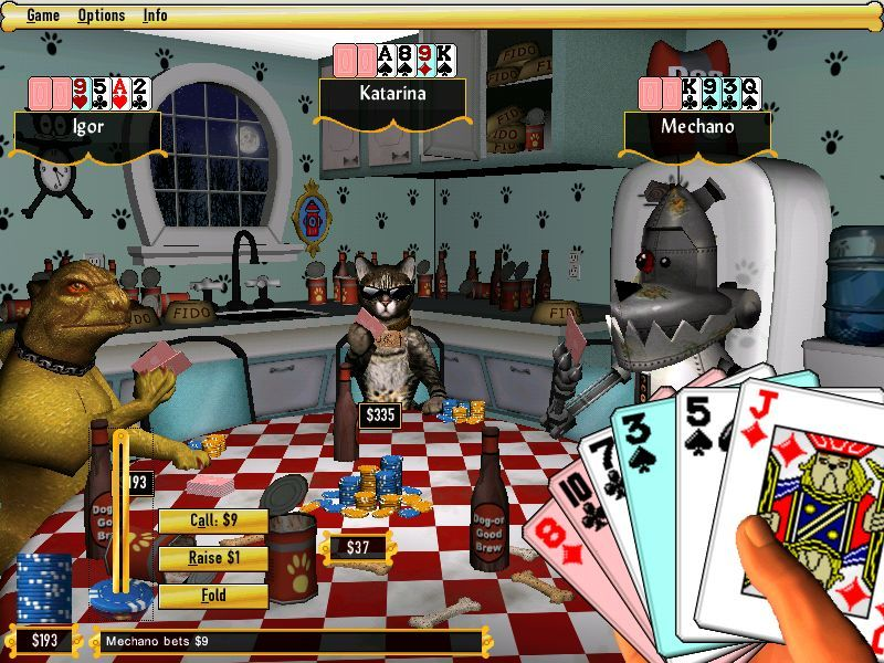 Dogs Playing Poker Pc Game Free Post Ebay