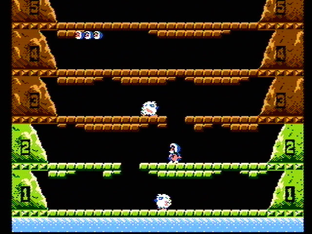 Ice Climber NES Try to climb your way to the top!