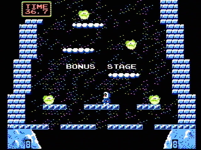 Ice Climber NES Can you complete the bonus stage?