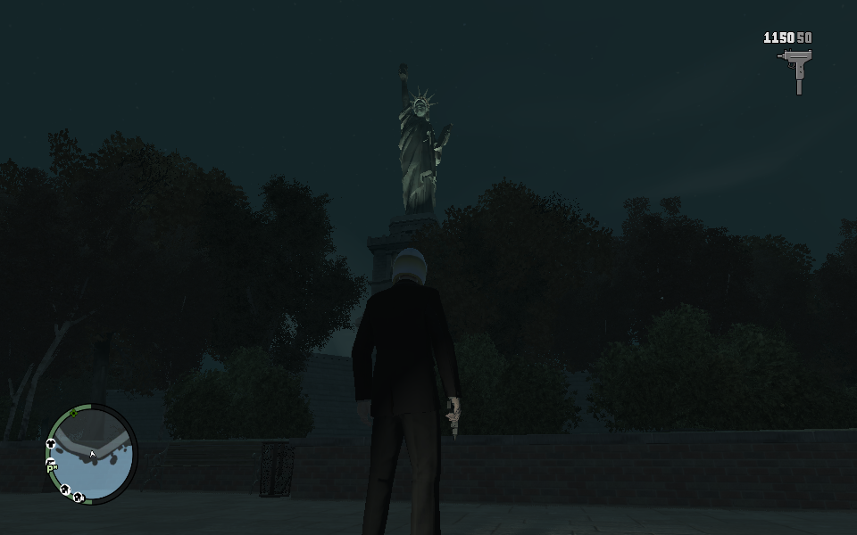 Grand Theft Auto IV Windows The Statue of Happiness in Liberty City