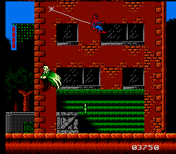 384257-spider-man-return-of-the-sinister-six-nes-screenshot-vulture - Spider-Man: Return of the Sinister Six [NES][MF] - Juegos [Descarga]