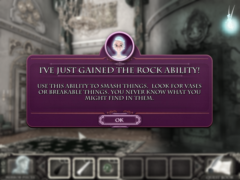 Princess Isabella: A Witch's Curse Windows Fairy gains the rock ability.