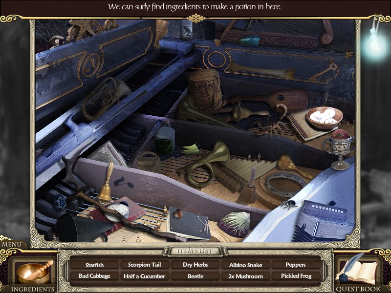 Princess Isabella: A Witch's Curse Windows Inside the piano