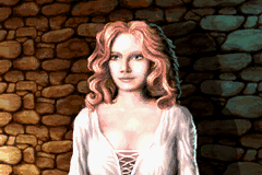 Defender of the Crown Game Boy Advance Saxon lady Rosalind