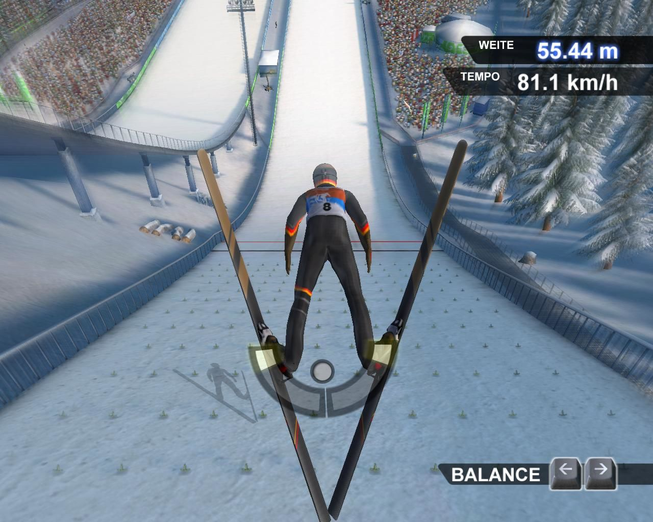 Winter Sports: The Ultimate Challenge Windows Ski-flying shot 2