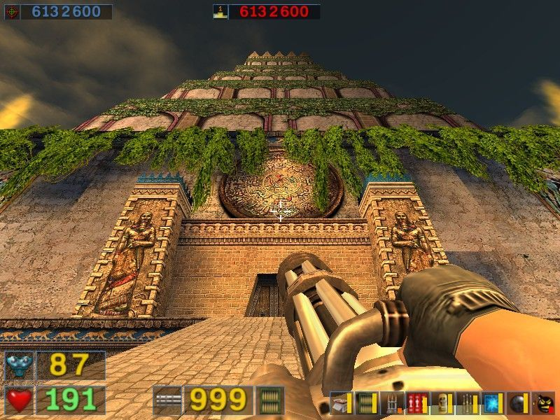 Serious Sam: The Second Encounter Windows A monument of seriousness