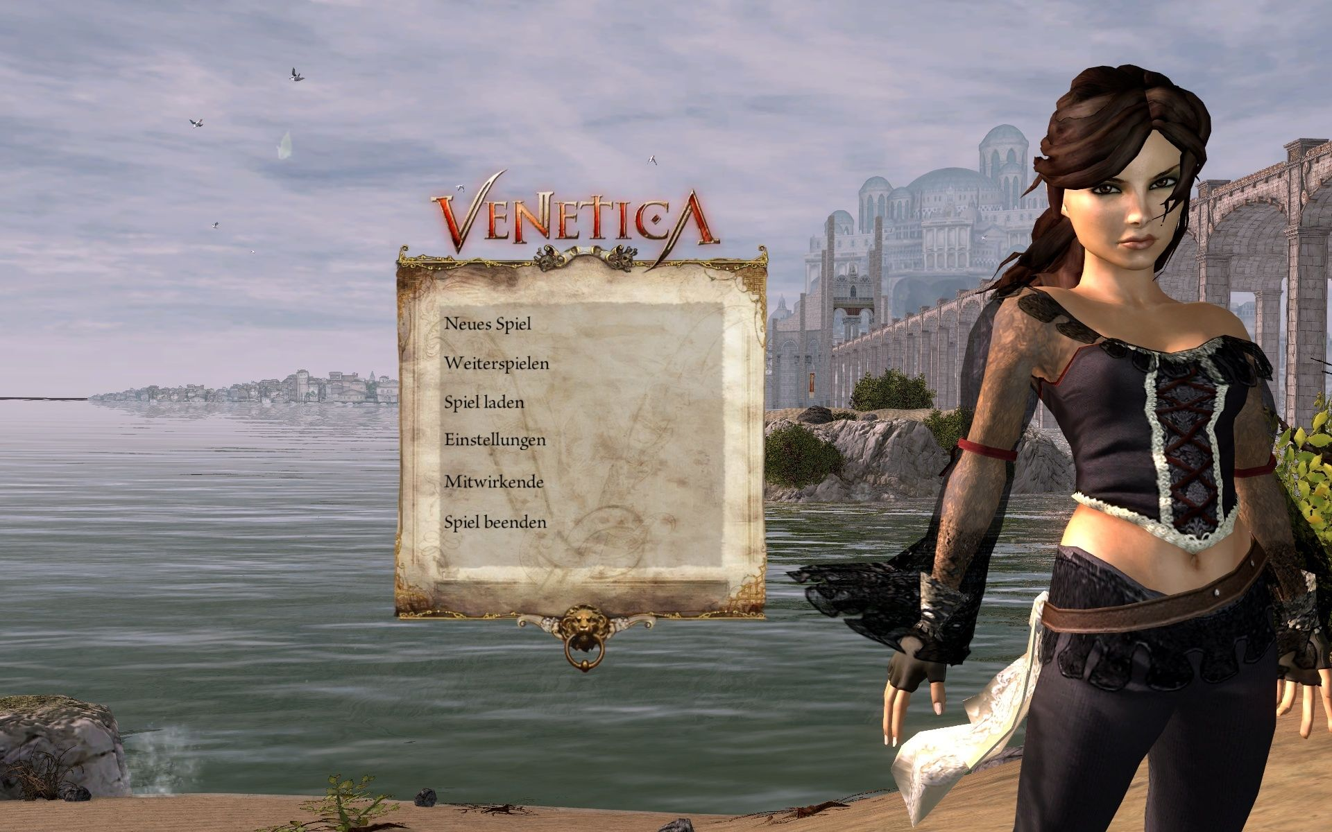 Venetica Windows Main Menu