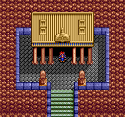Emerald Dragon TurboGrafx CD Is something hidden in this temple?
