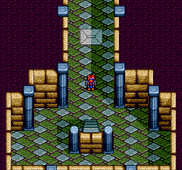 Emerald Dragon TurboGrafx CD Exploring a dungeon