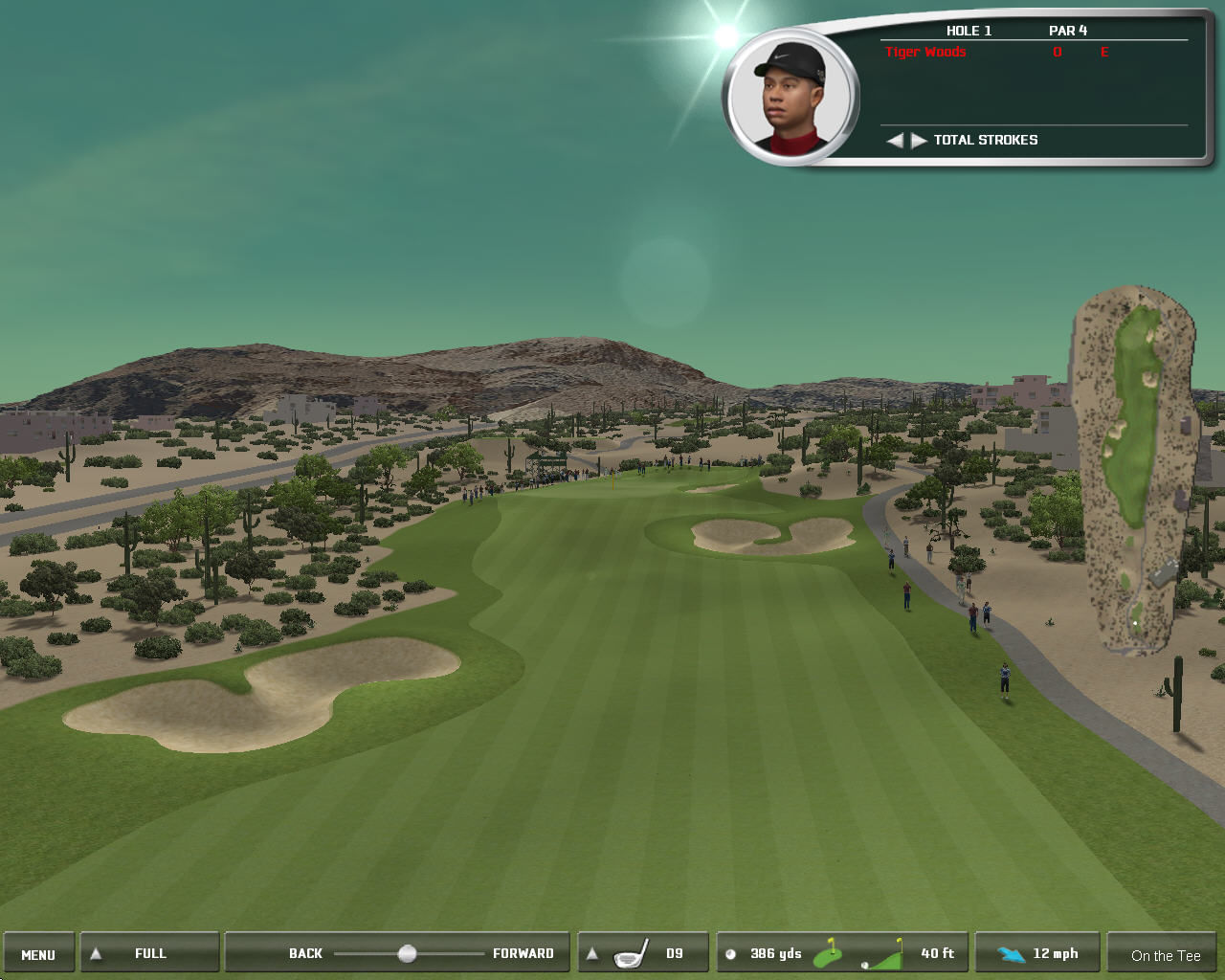Tiger Woods PGA Tour 06 Windows A perfect day for golf