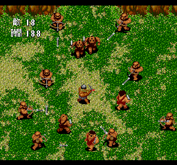 Gain Ground TurboGrafx CD I'm surrounded!