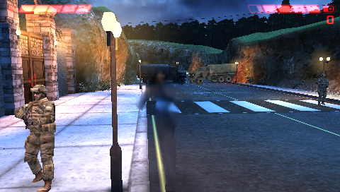"""Aliens vs Predator: Requiem PSP """"-Private, the surface normals on your rifle are inside out! Haha made you look"""""""