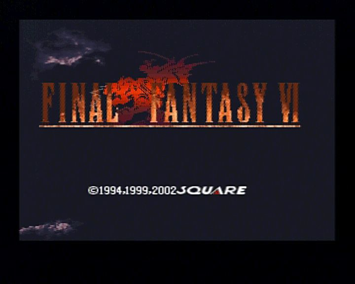 Final Fantasy III PlayStation Main Title (there is also another new one in the intro animation)