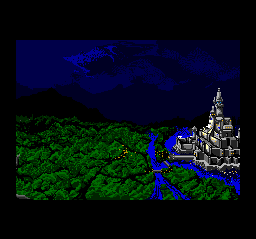 Warsong TurboGrafx CD An ancient castle...