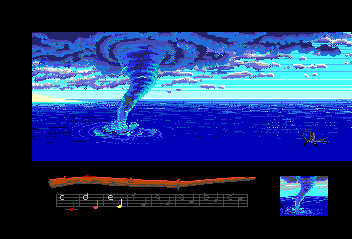 Loom TurboGrafx CD Which draft to cast on this whirlwind?..
