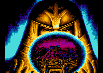Wizardry V: Heart of the Maelstrom TurboGrafx CD What are you looking at?..