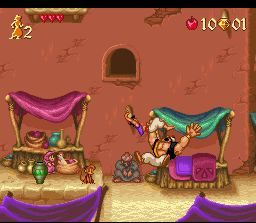 Disney's Aladdin SNES Take this!