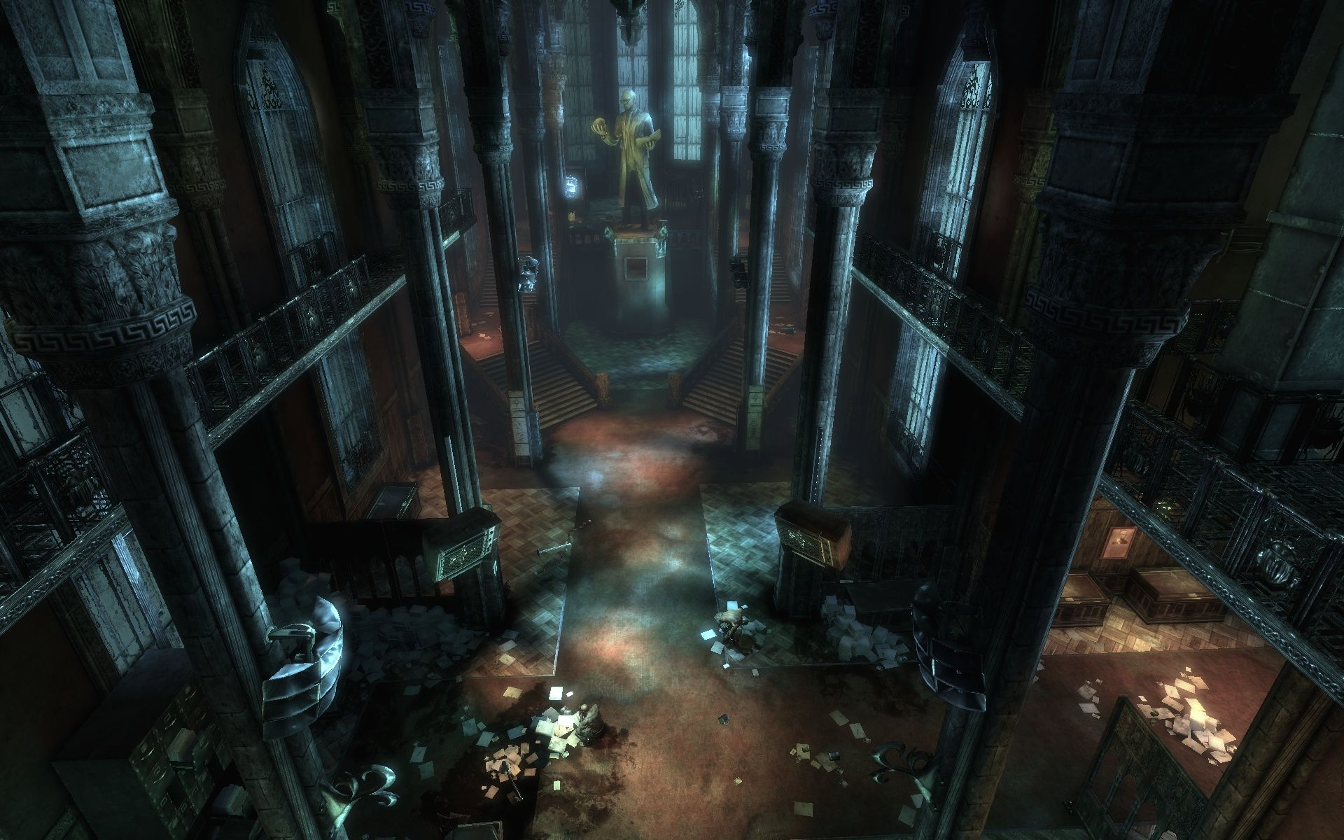 Batman: Arkham Asylum Windows Scene from the integrated Benchmark.