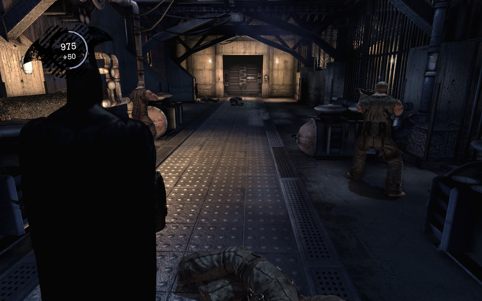 Batman: Arkham Asylum Windows Batman attacks silently