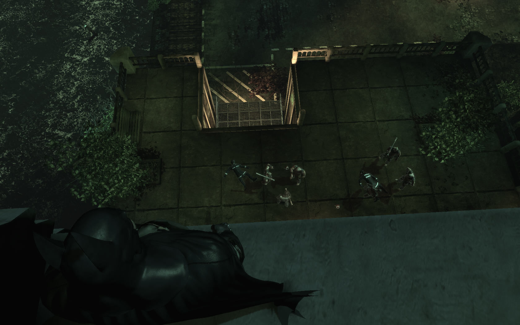 Batman: Arkham Asylum Windows Group of enemies