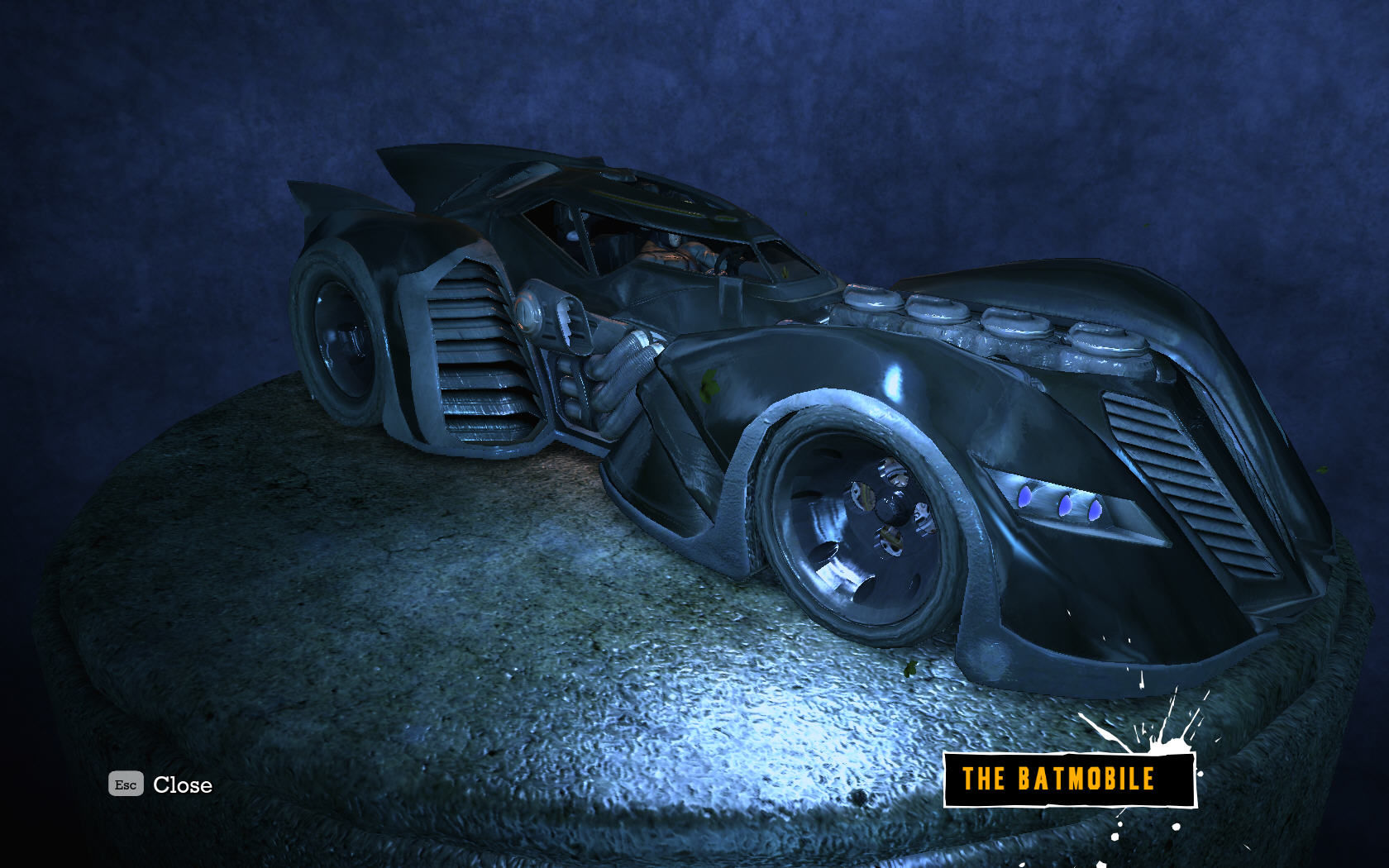 Batman: Arkham Asylum Windows The batmobile