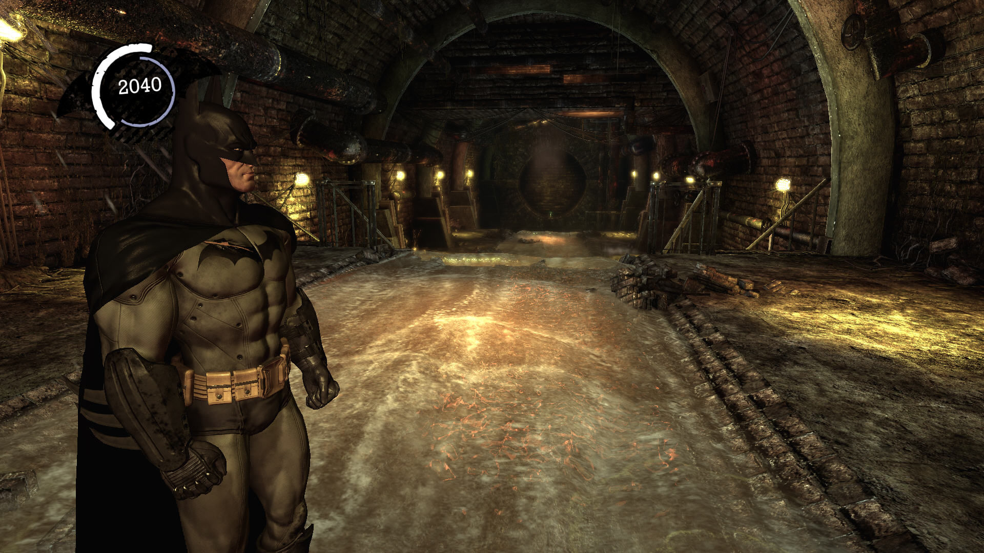Batman: Arkham Asylum Windows In the sewers