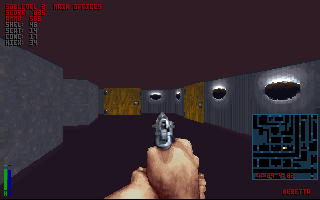 The Terminator: Rampage DOS Floors and ceilings can be disabled for performance on older machines.