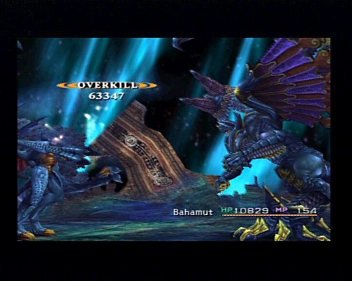 Final Fantasy X PlayStation 2 When Bahamut deals a damage, you can bet it'll always be bigger than expected.