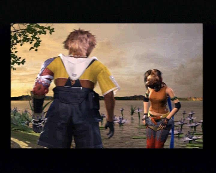 Final Fantasy X PlayStation 2 Whoa, Rikku, is this what people call striptease around here?
