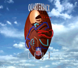 NFL Quarterback Club SNES Title screen