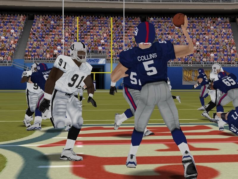 Madden NFL 2002 Windows Throw