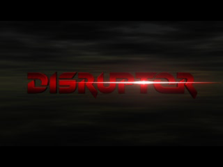 Disruptor PlayStation Title screen