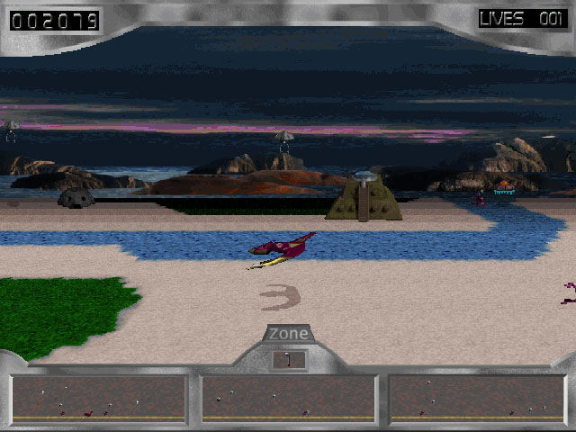 3D Missile Madness Windows The second scenery type