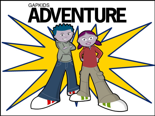 GapKids Adventure Windows Title screen