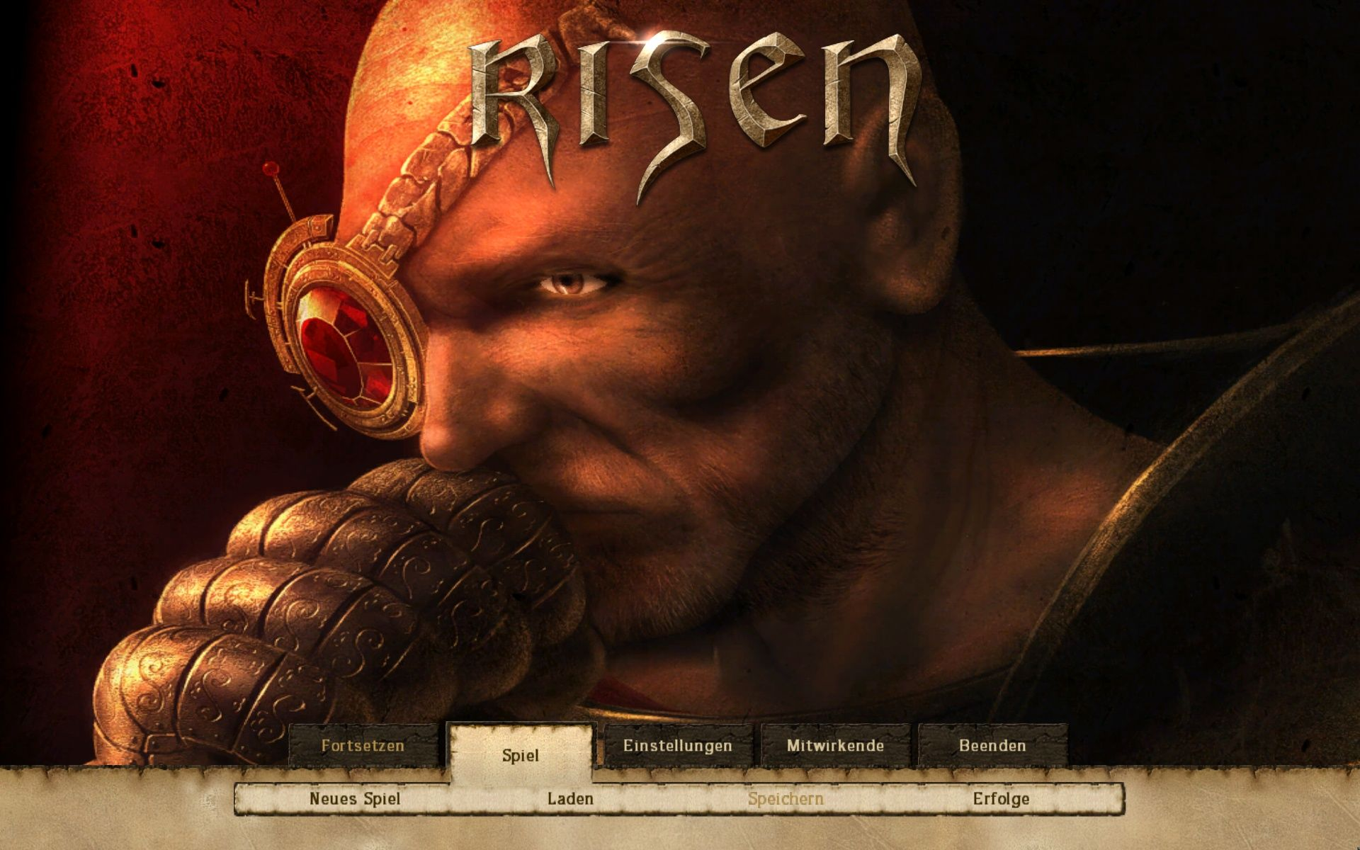 Risen Windows Main Menu