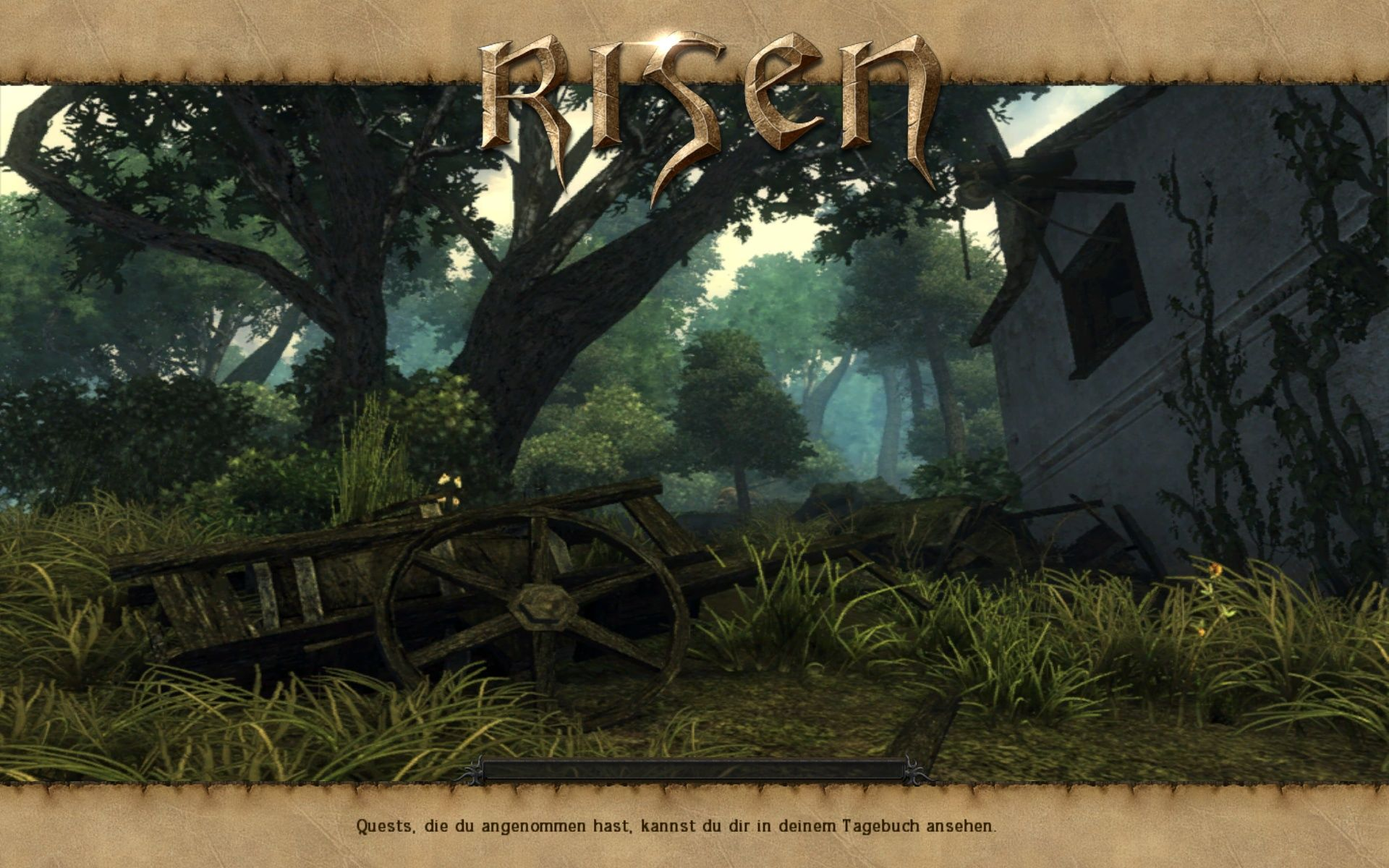 Risen Windows Loading Screen
