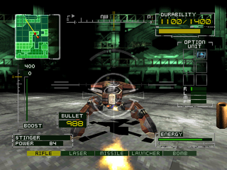 BRAHMA Force: The Assault on Beltlogger 9 PlayStation Spider robot